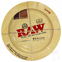 CINZEIRO METAL RAW NATURAL UNREFINED ROLLING PAPERS