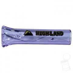 TIP DE VIDRO HIGHLAND BOMB 5 CM X 12 MM ROXA