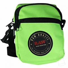 SHOULDER BAG RAW BRAZIL - NEON