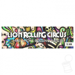 SEDA LION ROLLING CIRCUS MINI SMOKE 70 MM BLACK