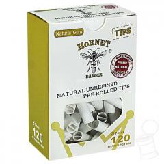 TIPS PRE-ROLLED WHITE HORNET BOX 7 MM