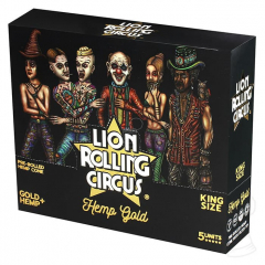 CX. SEDA LION ROLLING CIRCUS KING SIZE UNBLEACHED