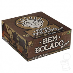 CX. SEDA BEM BOLADO BROWN KING SIZE SLIM