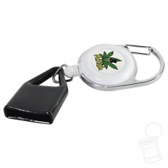 CHAVEIRO LIGHTER LEASH MR.HIGH BRANCO