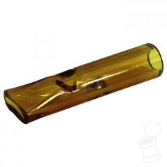 PITEIRA DE VIDRO 3,5 CM X 8 MM MOON - AMBAR