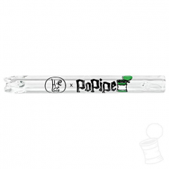 TIP DE VIDRO HIPPIE BONG POPIPE BOCAL 6 MM 5,5 CM