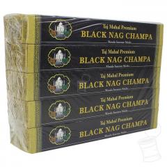 CX. INCENSO TAJ MAHAL PREMIUM NAG CHAMPA BLACK