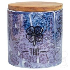 POTE DE PORCELANA TRIAD HEMP CLUB P ROXO