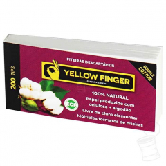 TIPS YELLOW FINGER DOUBLE COTTON