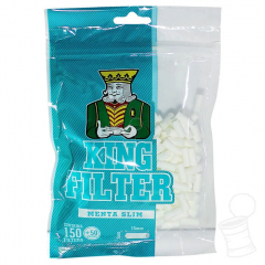 FILTRO KING SLIM MENTHOL 6MM C/ 200