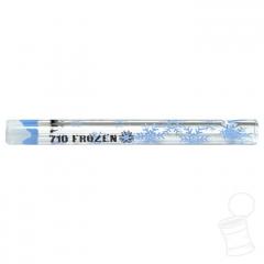 TIP DE VIDRO HIGHLAND X 710 FROZEN 8 CM X 8 MM PONTA BRANCA