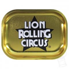 BANDEJA LION ROLLING CIRCUS DOURADA