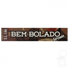 SEDA BEM BOLADO BROWN KING SIZE SLIM