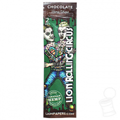 HEMP WRAPS LION ROLLING CIRCUS CHOCOLATE