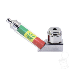 PIPE BASE RASTA WEED