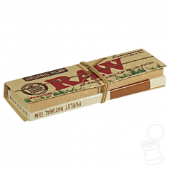 SEDA RAW CONNOISSEUR ORGANIC 1 1/4 + TIPS