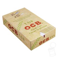 CAIXA DE SEDA OCB 1 1/4 ORGANIC HEMP