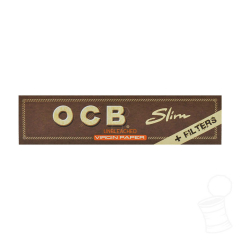 SEDA OCB KING SIZE SLIM VIRGIN PAPER + FILTERS