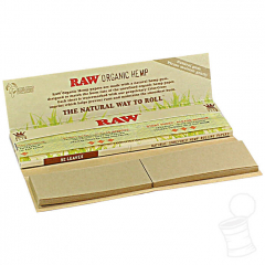 SEDA RAW CONNOISSEUR ORGANIC HEMP KING SIZE + TIPS