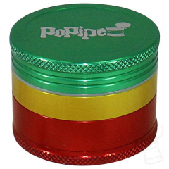 DICHAVADOR BIG UP GRINDER POPIPE RASTA